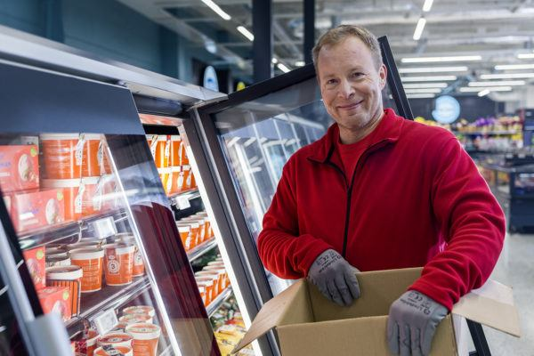 Workwear for supermarkets and grocery stores